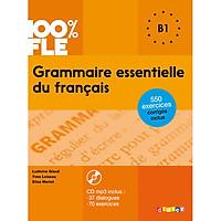 Sách học tiếng Pháp: Grammaire essentielle du francais : Livre + CD B1