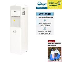 Cây nước nóng lạnh 2 vòi FujiE WD1850C màu trắng- Hàng chính hãng