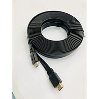 Cáp 2 đầu HDMI-dây dẹp dài 10 mét-màu đen