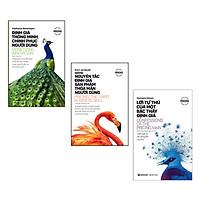 Combo 3 Cuốn Sách Đặc Biệt Về Định Giá:   Định Giá Thông Minh, Chinh Phục Người Dùng + Những Nguyên Tắc Định Giá Sản Phẩm Thỏa Mãn Người Dùng + Lời Tự Thú Của Một Bậc Thầy Định Giá