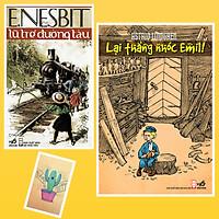 Combo Lại Thằng Nhóc Emil và  Lũ Trẻ Đường Tàu ( Tặng Kèm Sổ Tay Xương Rồng)