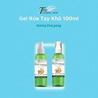 Gel rửa tay khô The Herbal Skin xát khuẩn làm mềm da tiêu diệt đến 99% vi khuẩn - 80ml