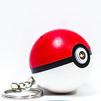 Móc khóa Ball Pokemon có đèn nhạc