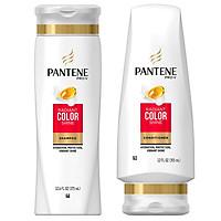 Combo bộ dầu gội xả Pantene Pro-V Radiant Color Shine  dành cho tóc nhuộm - USA