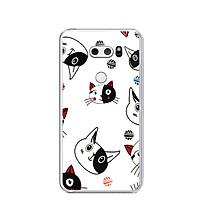 Ốp lưng dẻo cho điện thoại LG V30 - 0113 KUTECAT02 - Hàng Chính Hãng