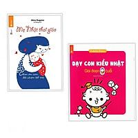 Combo 2 cuốn Mẹ Nhật Thai Giáo +  Dạy Con Kiểu Nhật - Giai Đoạn Trẻ 0 Tuổi(Tặng kèm bookmark)