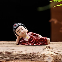 Tượng Phật nằm niết bàn - Phật Ông áo nâu