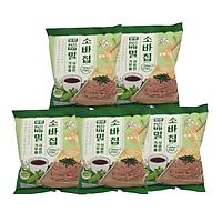 Combo 5 gói bim bim Soba kiều mạch Hàn Quốc x 45g/gói