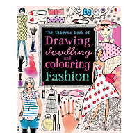 Usborne Drawing , Doodling and Colouring Fashion