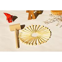 Bộ búa và 30 đinh gỗ phát triển vận động tinh cho trẻ, món quà độc đáo cho bé yêu