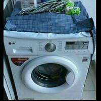 Áo trùm máy giặt bằng vải dù siêu bền