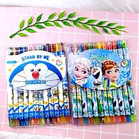 Vỉ 12 cây bút sáp vặn tô màu loại đẹp chất lượng cao