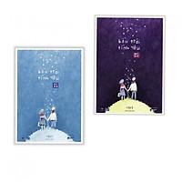 Combo Bầu Trời Tình Yêu (Trọn Bộ 2 Tập) - Tặng Bookmark Phương Đông