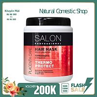 Kem ủ Salon Professional bảo vệ tóc khỏi các tác động nhiệt 1000ml