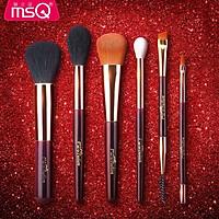 Bộ Cọ Trang Điểm MSQ Fashion 6 Cây Màu Đỏ
