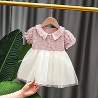 VN52 Size70-100 (4-16kg) đầm cho bé gái 1 tuổi đến 3 tuổi Thời trang trẻ Em hàng quảng châu
