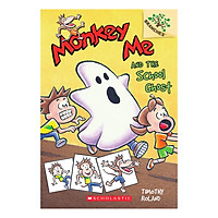 Monkey Me Book 4 Monkey Me And The School Ghost (With Cd)