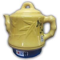 Ấm Siêu Sắc Thuốc Điện Tự Động Gốm Bát Tràng Bảo Long Phú Vinh Cao Cấp PV-386H (3,2 lít) - Màu Ngẫu Nhiên - Hàng Chính Hãng