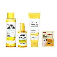 Bộ 3 Sản phẩm dưỡng sáng da, mờ thâm Some By Mi Yuja Niacin ( Toner 150ml + Gel Cream 100ml+ Serum 50ml) + tặng kèm 1 mặt nạ mắt Mediheal