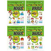 Combo 1088 Câu Đố Phát Triển Trí Tuệ 4-5 Tuổi (Bộ 4Q)