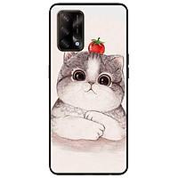 Ốp lưng dành cho Oppo A54 - A74 - A94 - mẫu Mèo Và Cà Đỏ