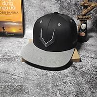 Mũ nón snapback phụ kiện thời trang đen