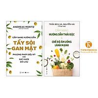 Sách - Combo Cẩm Nang Hướng Dẫn Thải Độc + Cẩm nang hướng dẫn tẩy sỏi gan mật