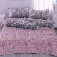 Bộ drap cotton thái lan Cotton House (5 món) CH5TDG008