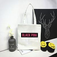 Túi xách BlackPink tote túi vải thời trang nữ Kpop