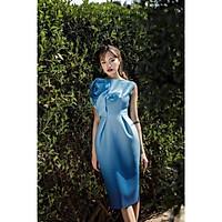 Đầm body dự tiệc hoa hồng TRIPBLE T DRESS -Size M/L/XL(kèm ảnh/video thật)MS96Y