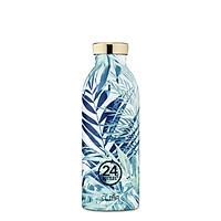 Bình giữ nhiệt chân không 24 Bottles Clima, dung tích 500ml, họa tiết lá