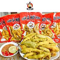 Đồ Ăn Vặt Việt Nam Chân Gà VuVu Cay Muối Ớt  ( Combo 3 Gói 225 gram )
