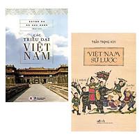 Combo (2 Cuốn) Lịch Sử Việt Nam: Các Triều Đại Việt Nam (Tái Bản) + Việt Nam Sử Lược (Tái Bản)