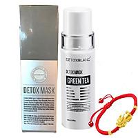 Mặt Nạ Thải Độc Trắng Da Ngừa Mụn Nám Detox BlanC: Detox Mask (mẫu mới) - Tặng Vòng tay thời trang