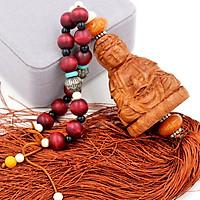 Dây treo Phong thủy Phật Quan âm 3D - Vật phẩm trang trí phong thủy