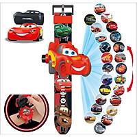 Đồng hồ chiếu  24 hình xe đua mặt 3D Siêu Ngầu