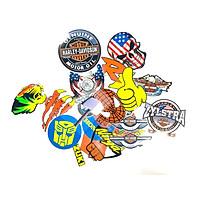 Decal sticker trang trí nhiều kiểu dành cho nhiều loại xe máy