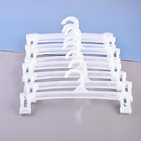 Combo 10 móc nhựa trắng móc quần áo H6112-1
