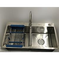 Combo bộ chậu rửa chén + vòi rửa INOX 304 HAFEN