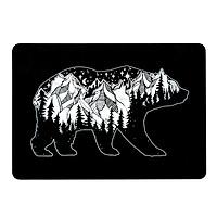 Laptop Case Protective Cover Snap on Case Compatible with Macbook Air 13'' A1932/A2179/A2337(2018-2020) Bear with Views1