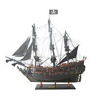 Mô hình thuyền cướp biển Pirate Black Pearl (thân 55cm)