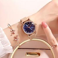Đồng hồ nữ Julius Hàn Quốc JA-1012 dây da