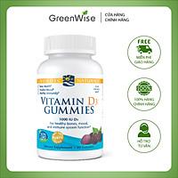 Viên Nhai Hương Trái Cây Bổ Sung Vitamin D3 Giúp Xương Chắc Khỏe, Sức Khỏe Dẻo Dai - 60 Viên