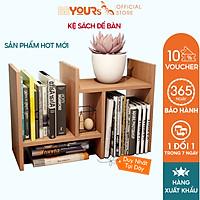 Kệ Sách Để Bàn Làm Việc Gỗ Mini BEYOURs Đa Năng - Bella Book Shelf - Nội Thất Phòng Làm Việc Lắp Ráp Dễ Dàng