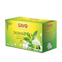 Trà SAVO Lài (Jasmine Tea) - Hộp 25 Túi x 2g