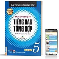 Sách - Tiếng Hàn Tổng Hợp Dành Cho Người Việt Nam Cao Cấp 5 Bản Đen Trắng