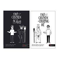 Sách - Combo Trò chuyện với ác quỷ và Trò chuyện với thượng đế  (tặng kèm bookmark)