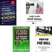Combo Đỉnh Cao Chiến Lược Đầu Tư Chứng Khoán: Phân Tích Thị Trường Chứng Khoán + Cuộc Chiến Phố Wall + Cổ Phiếu Thường Lợi Nhuận Phi Thường + Đánh Bại Phố Wall