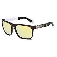 Square Shape Casual Polarized Sunglasses Driver Shades Vintage Style Sun Glasses