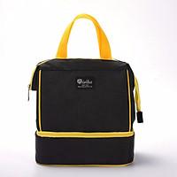 Túi đựng cơm giữ nhiệt nóng, lạnh Cao Cấp 2 ngăn, 3 lớp (size 23x16x26 cm)